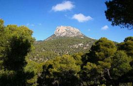 Puntos de interés geoambiental de la región de Murcia